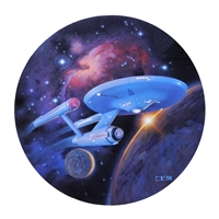 U.S.S. Enterprise by Thomas Blackshear
