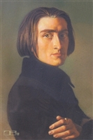 Franz Liszt by Thomas Blackshear
