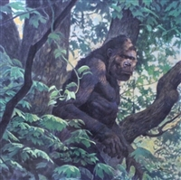 Bigfoot by Thomas Black by Thomas Blackshear