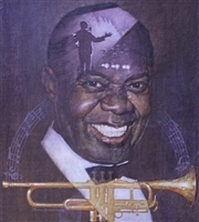 Louis Armstrong by Thomas Blackshear